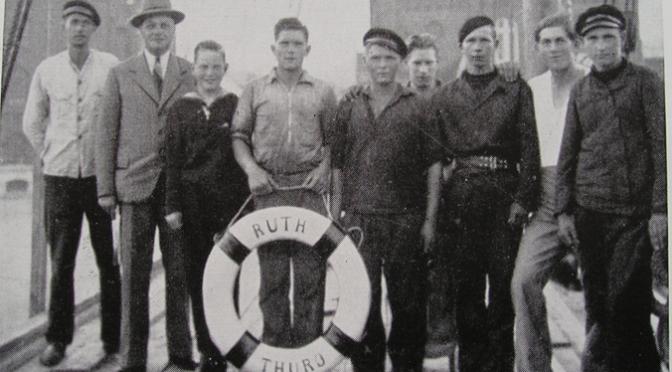 Registreringer af Thurøs skibe og søfolk