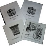 Bøger:  Thurøs Historie I kr. 50,- / Thurøs Historie II kr. 50.-/ Historier fra Thurø kr. 50,- /Flere historier fra Thurø kr. 50,-. Alle fire sælges for kr 175,-.