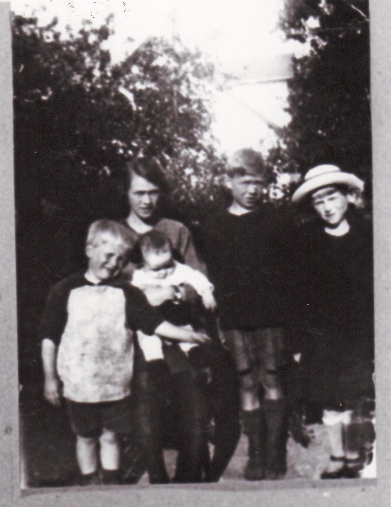 mor og barn billede